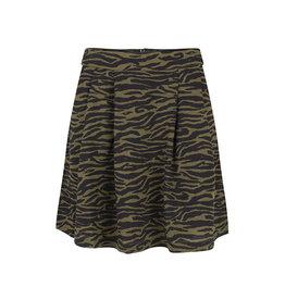 Lofty Manner Lofty Manner Rok Zebra Groen-Zwart