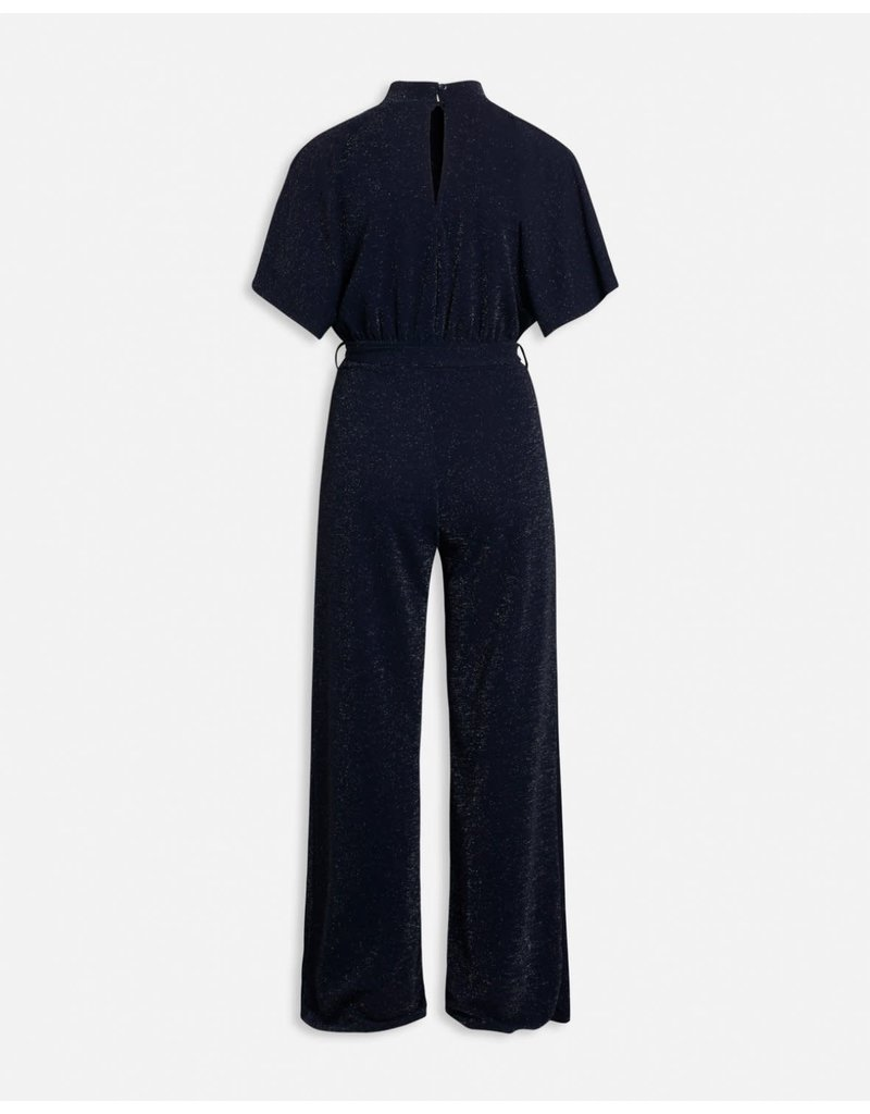 Sisters Point Sisters Point Girl jumpsuit Navy/Silver
