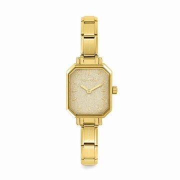 Nomination Nomination Paris Horloge Goudkleurig Glitter
