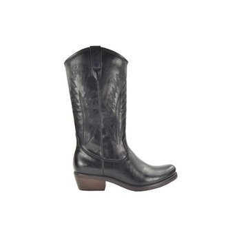 Fabs Shoes Fabs Shoes Western Boots Zwart