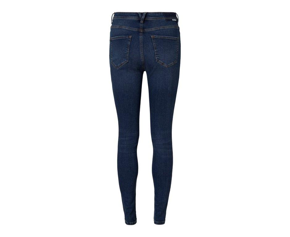 Noisy May Noisy May NM Vicky Skinny Jeans Dark Blue