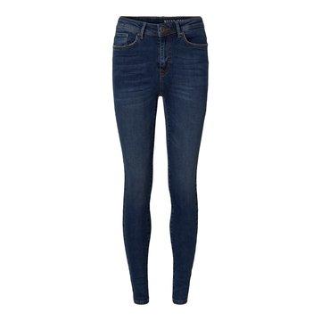 Noisy May Noisy May Vicky Skinny Jeans Donker Blauw