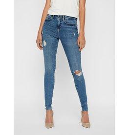 Noisy May Noisy May NM Vicky Skinny Jeans Medium Blue