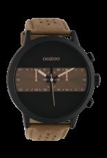 Oozoo Timepieces Oozoo Horloge Brown-Black C10302