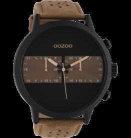 Oozoo Timepieces Oozoo Horloge Bruin-Zwart