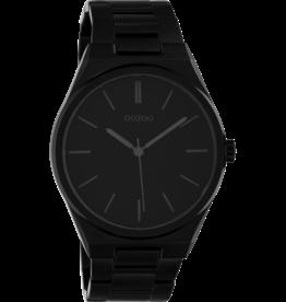 Oozoo Timepieces Oozoo Horloge Zwart