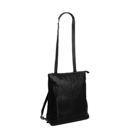 Chesterfield Chesterfield Bags Chelsea Rugzak Leather Zwart