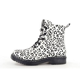 Fabs Shoes Fabs Ankle Boots Spots Zwart-Wit