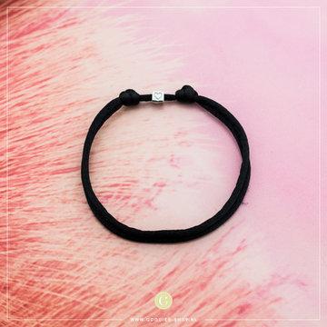 Imotionals Imotionals Silk Cords Met Blok Hartje Zilver