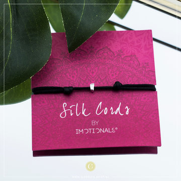 Imotionals Imotionals Silk Cords Baby Voetje Zilver