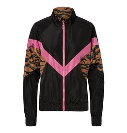 Noisy May Noisy May Jacket Zwart/Roze/Tijger