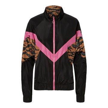 Noisy May Noisy May Jacket Zwart/Roze/Tijger