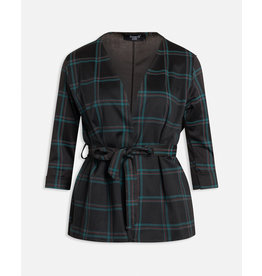 Sisters Point Sisters Point Caddy Blazer Black/Green Check
