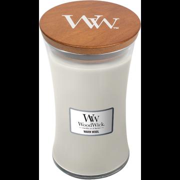 WoodWick WoodWick Warm Wool Large Candle