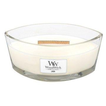 WoodWick WoodWick Linen Ellipse Candle