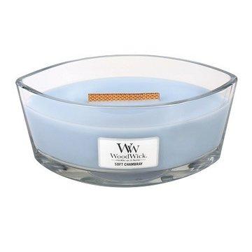 WoodWick WoodWick Soft Chambray Ellipse Candle