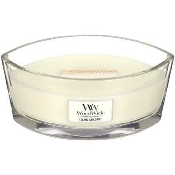 WoodWick WoodWick Island Coconut Ellipse Candle
