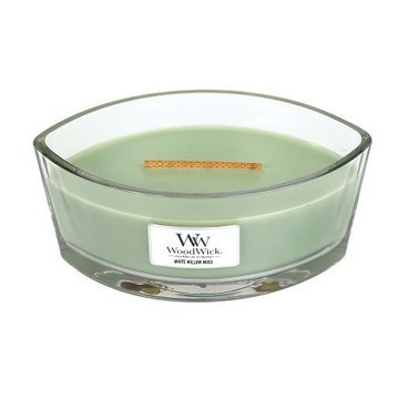 WoodWick WoodWick White Willow Moss Ellipse Candle
