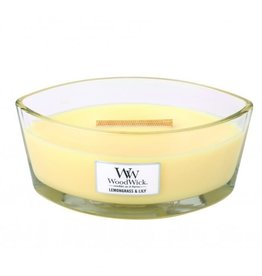 WoodWick WoodWick Lemongrass & Lily Ellipse Candle