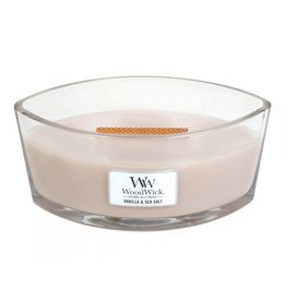 WoodWick WoodWick Vanilla & Sea Salt Ellipse Candle