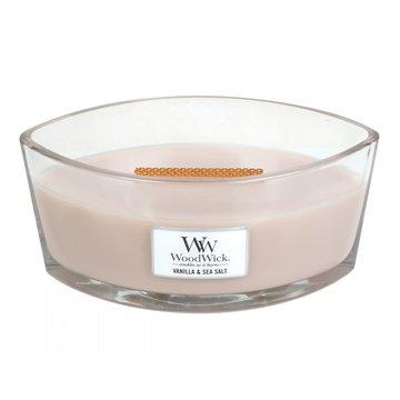 WoodWick WoodWick Vanilla & Sea Salt Ellipse Candle