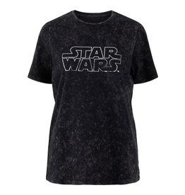 Pieces Pieces Star Wars T-shirt Zwart
