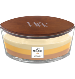WoodWick WoodWick Golden Treats Ellipse Candle
