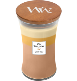 WoodWick WoodWick Golden Treats Large Candle