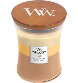 WoodWick WoodWick Golden Treats Medium Candle