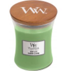 WoodWick WoodWick Hemp & Ivy Medium Candle