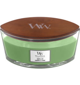 WoodWick WoodWick  Hemp & Ivy Ellipse Candle