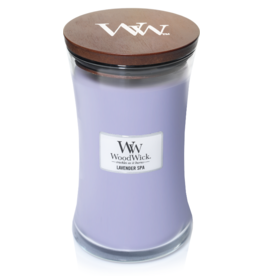 WoodWick WoodWick Lavender Spa Large Candle