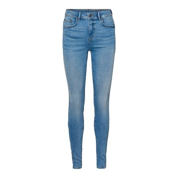 Noisy May Noisy May Skinny Denim Jeans Licht Blauw