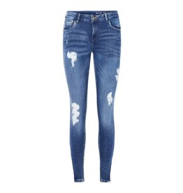 Noisy May Noisy May Kimmy Ankle Jeans Medium Blue Denim