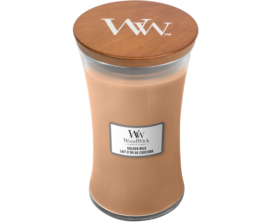 WoodWick WoodWick Golden Milk Large Candle