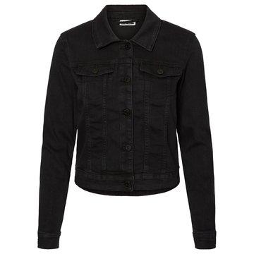 Noisy May Noisy May Black Wash Denim Jacket