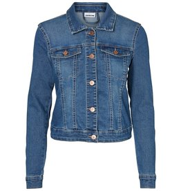 Noisy May Noisy May Medium Blue Denim Jacket