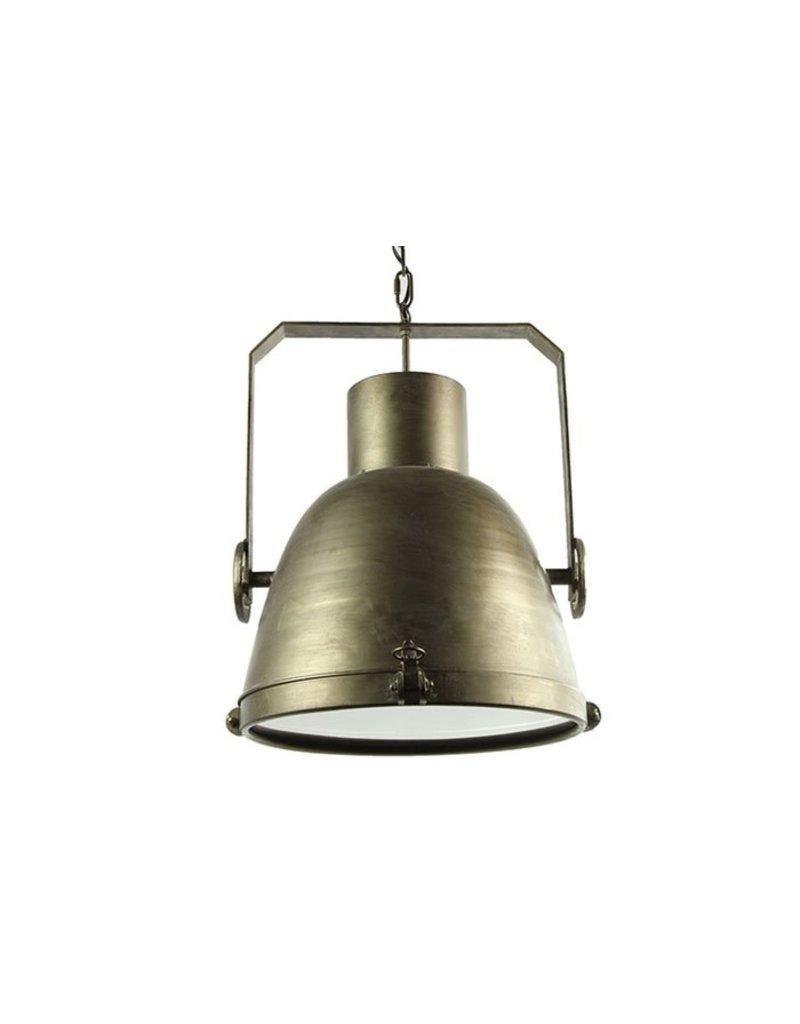 Countryfield Hanglamp E27 Misha L Grijs