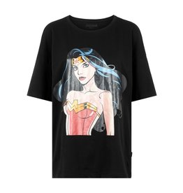 Noisy May Zwart t-shirt Wonder Woman Noisy May