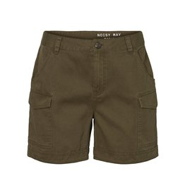 Noisy May Olijfgroene shorts Noisy May