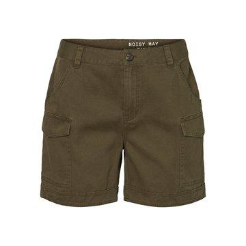 Noisy May Olijfgroene shorts Noisy May