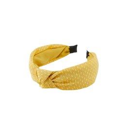 Pieces Haarband Geel Pieces
