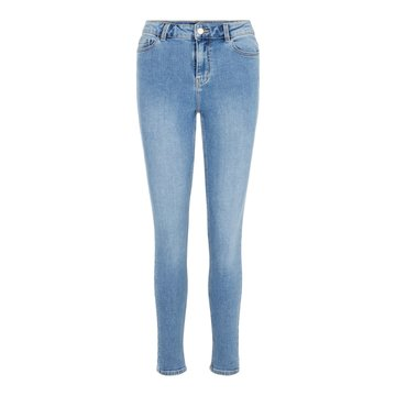 Pieces Ankle Jeans Light Blue Pieces