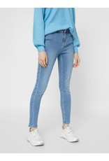 Pieces Pieces PC Kamelia Skinny Ankle Jeans Light Blue Denim