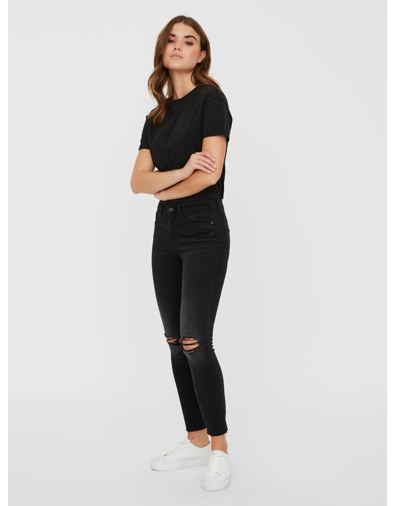 Noisy May Noisy May NM Lucy Ankle Jeans black Denim