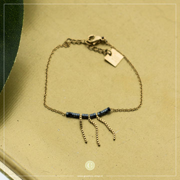 Zag Bijoux Zag Bijoux Armband Kraaltjes Waterval