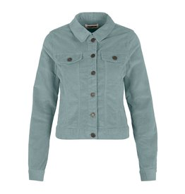 Noisy May Noisy May Corduroy Jacket Licht Blauw