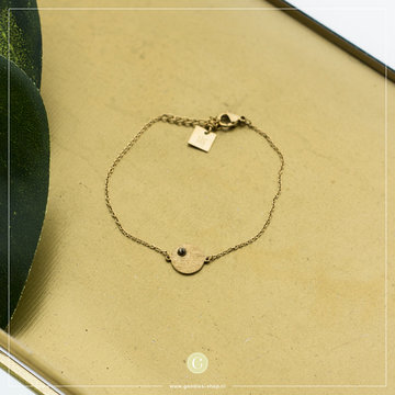 Zag Bijoux Zag Bijoux Bracelet Circle Goudkleurig