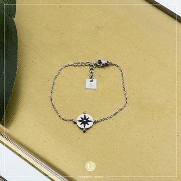 Zag Bijoux Zag Bijoux Bracelet Sun Zilverkleurig