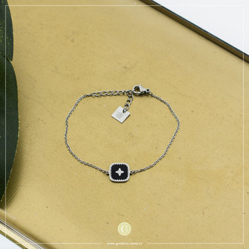 Zag Bijoux Zag Bijoux Bracelet Zilverkleurig